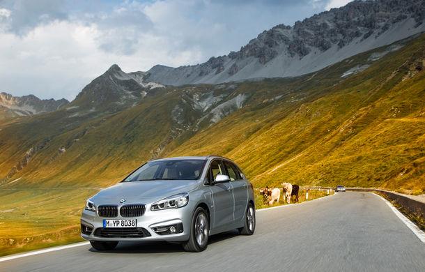 BMW 225xe Active Tourer este primul monovolum plug-in hybrid produs de marca bavareză - Poza 22