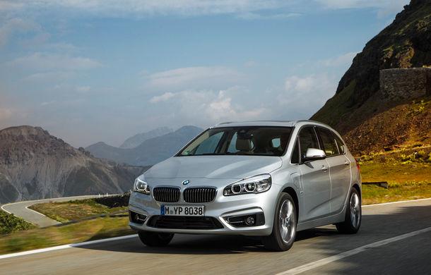 BMW 225xe Active Tourer este primul monovolum plug-in hybrid produs de marca bavareză - Poza 24