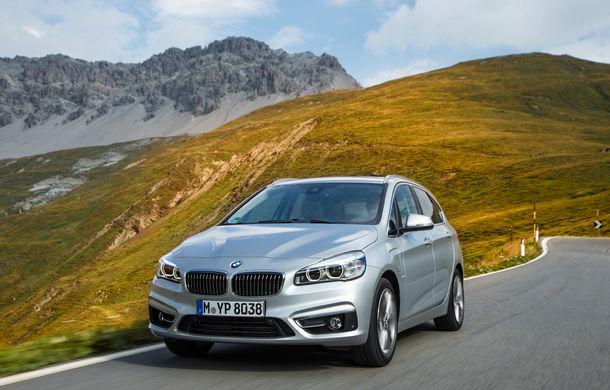 BMW 225xe Active Tourer este primul monovolum plug-in hybrid produs de marca bavareză - Poza 13