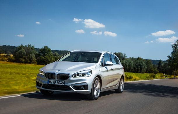 BMW 225xe Active Tourer este primul monovolum plug-in hybrid produs de marca bavareză - Poza 16