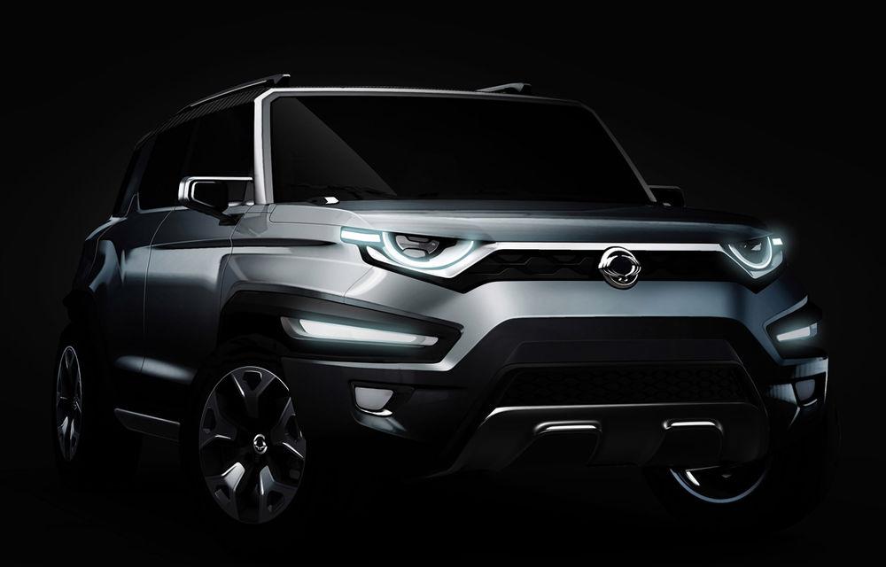Ssangyong XLV-Air Concept anunță o viitoare versiune cu șapte locuri a modelului Tivoli - Poza 2