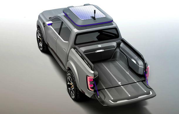 Renault Alaskan Concept anunță un viitor model pick-up în gama constructorului francez - Poza 6