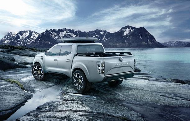 Renault Alaskan Concept anunță un viitor model pick-up în gama constructorului francez - Poza 27