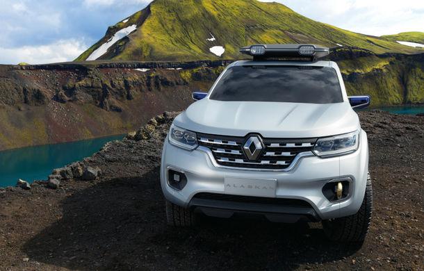 Renault Alaskan Concept anunță un viitor model pick-up în gama constructorului francez - Poza 10