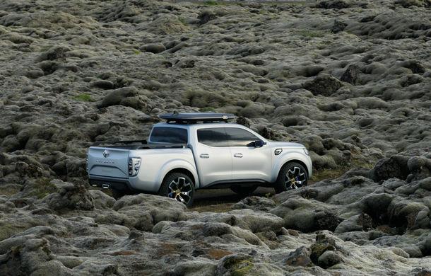 Renault Alaskan Concept anunță un viitor model pick-up în gama constructorului francez - Poza 21