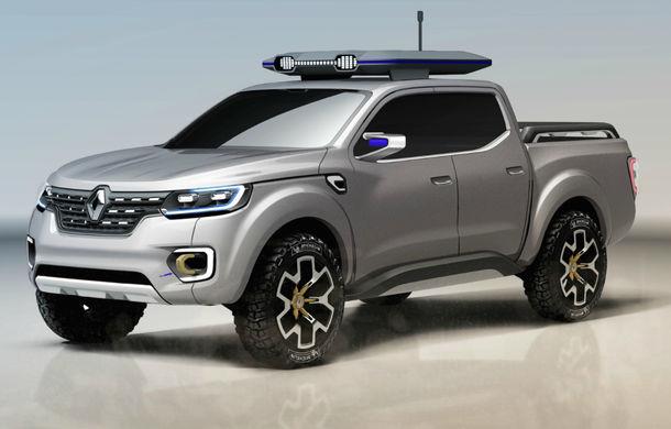 Renault Alaskan Concept anunță un viitor model pick-up în gama constructorului francez - Poza 7