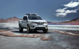 Renault Alaskan Concept anunță un viitor model pick-up în gama constructorului francez
