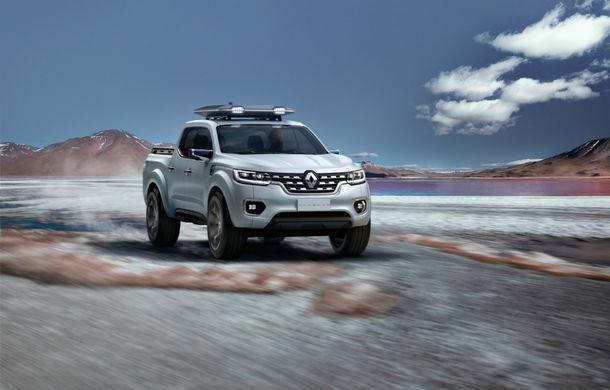 Renault Alaskan Concept anunță un viitor model pick-up în gama constructorului francez - Poza 1