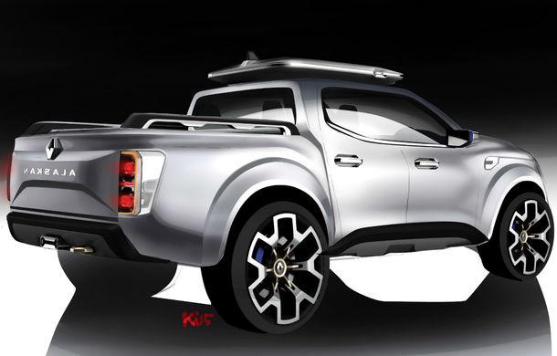 Renault Alaskan Concept anunță un viitor model pick-up în gama constructorului francez - Poza 4