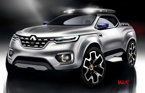 Renault Alaskan Concept anunță un viitor model pick-up în gama constructorului francez - Poza 3