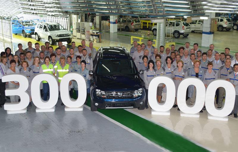Dacia Duster atinge un nou hotar de producție: 300.000 de Duster facelift au fost fabricate la Mioveni - Poza 1
