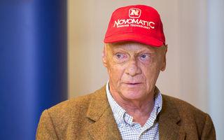 Niki Lauda a fost în România la invitaţia unei companii austriece