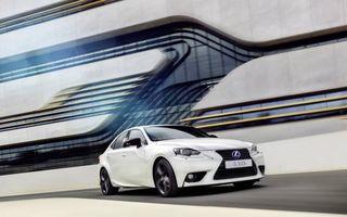 Lexus IS și CT Sport Edition: versiuni cu look sportiv pentru modelele constructorului japonez premium