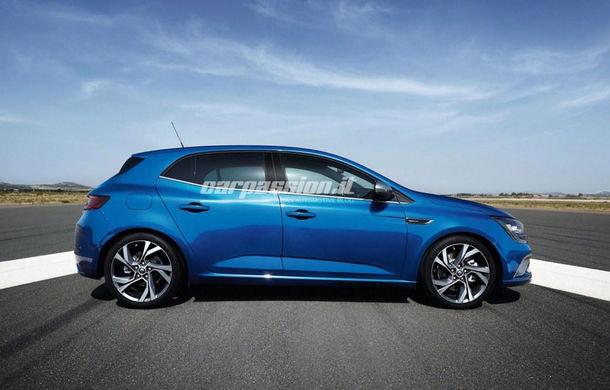 Noul Renault Megane: primele imagini au fost dezvăluite înainte de prezentarea oficială - Poza 10
