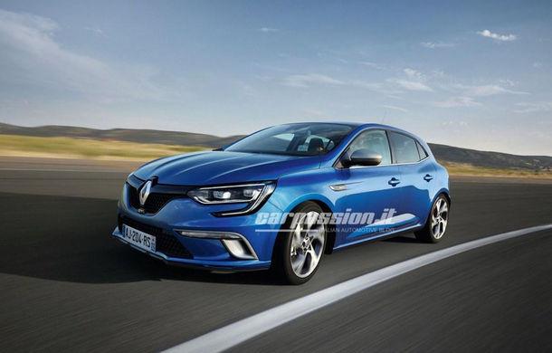 Noul Renault Megane: primele imagini au fost dezvăluite înainte de prezentarea oficială - Poza 1