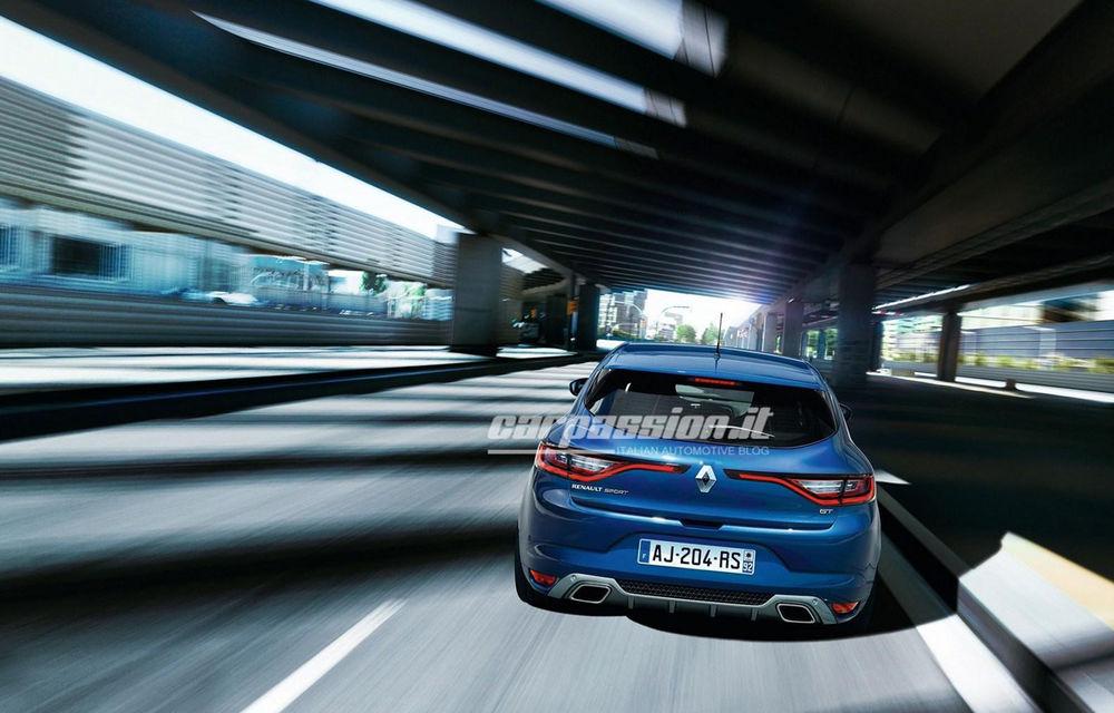Noul Renault Megane: primele imagini au fost dezvăluite înainte de prezentarea oficială - Poza 9
