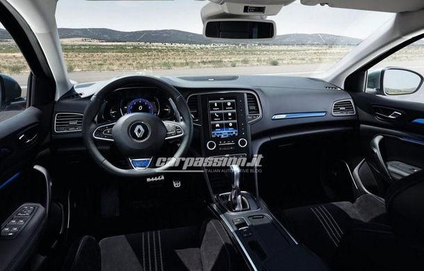 Noul Renault Megane: primele imagini au fost dezvăluite înainte de prezentarea oficială - Poza 2
