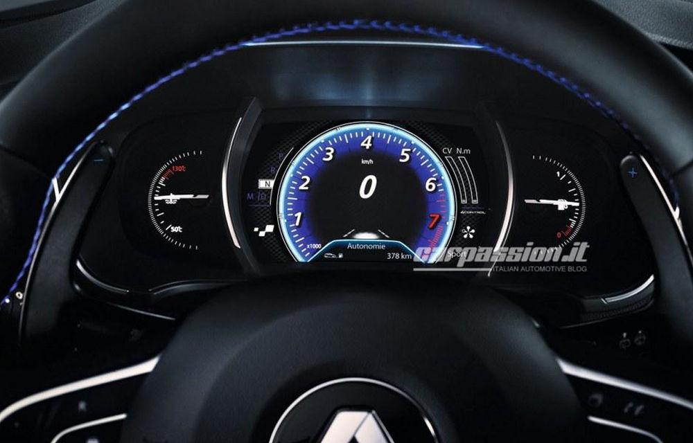 Noul Renault Megane: primele imagini au fost dezvăluite înainte de prezentarea oficială - Poza 3