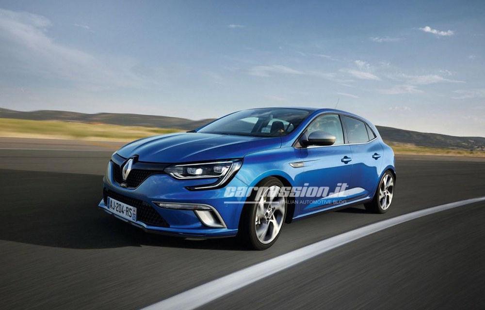 Noul Renault Megane: primele imagini au fost dezvăluite înainte de prezentarea oficială - Poza 6