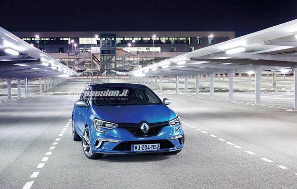 Noul Renault Megane: primele imagini au fost dezvăluite înainte de prezentarea oficială - Poza 4