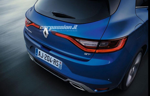Noul Renault Megane: primele imagini au fost dezvăluite înainte de prezentarea oficială - Poza 7