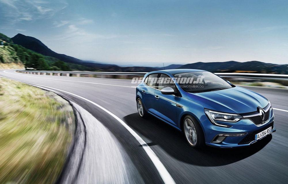 Noul Renault Megane: primele imagini au fost dezvăluite înainte de prezentarea oficială - Poza 8