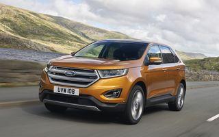 Ford Edge, rivalul direct al lui Volkswagen Touareg, debutează la Frankfurt