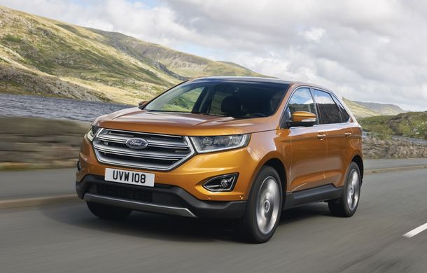 Ford Edge, rivalul direct al lui Volkswagen Touareg, debutează la Frankfurt - Poza 1