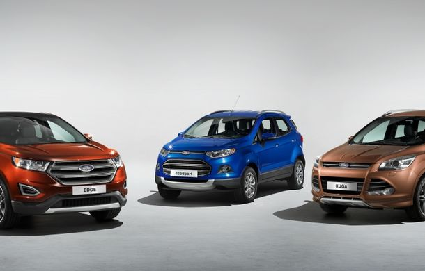 Ford Edge, rivalul direct al lui Volkswagen Touareg, debutează la Frankfurt - Poza 5