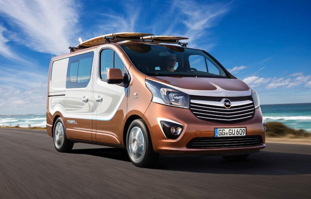 Opel Vivaro Surf Concept, un exercițiu dedicat celor îndrăgostiți de sport - Poza 1