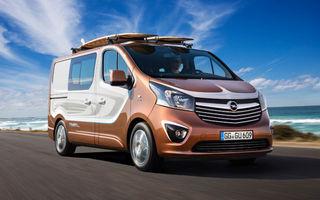 Opel Vivaro Surf Concept, un exercițiu dedicat celor îndrăgostiți de sport