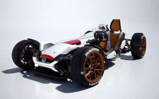 Honda prezintă conceptul unei mașini care promite senzația de libertate a unei motociclete
