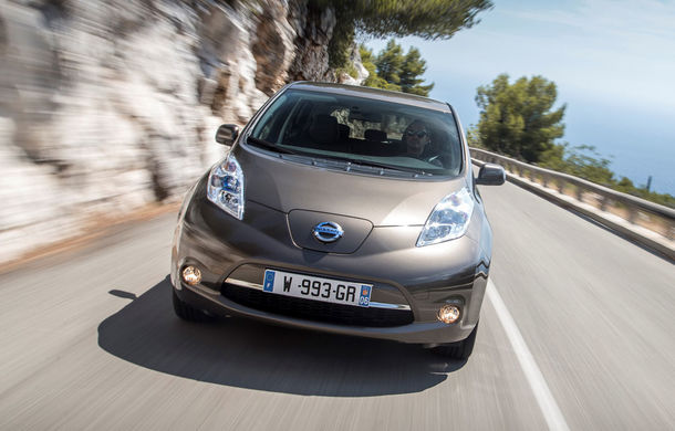 Nissan Leaf primeşte un update pentru 2016: autonomia creşte la 250 de kilometri - Poza 1
