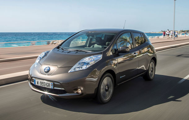 Nissan Leaf primeşte un update pentru 2016: autonomia creşte la 250 de kilometri - Poza 2