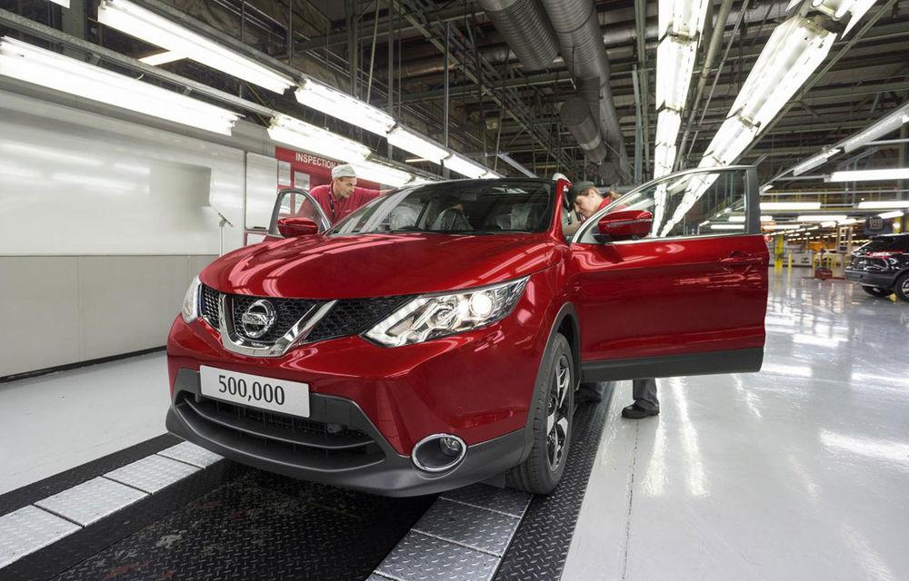 Actuala generație Nissan Qashqai a ajuns la 500.000 de unități în doar 21 de luni de la debut - Poza 1