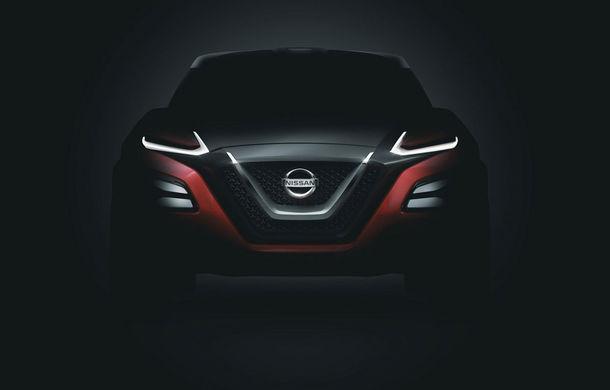 Primele imagini ale conceptului Nissan Gripz, viitorul crossover sportiv japonez - Poza 1