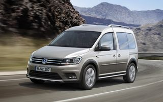 Volkswagen Caddy Alltrack: primele imagini și informații ale variantei cross a utilitarei