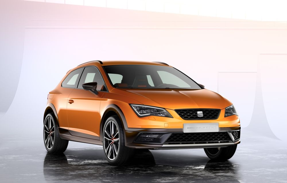 Seat Leon Cross Sport Concept prezintă ipoteza unui SUV coupe de clasă compactă - Poza 1