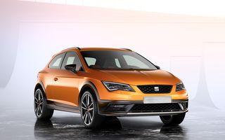 Seat Leon Cross Sport Concept prezintă ipoteza unui SUV coupe de clasă compactă