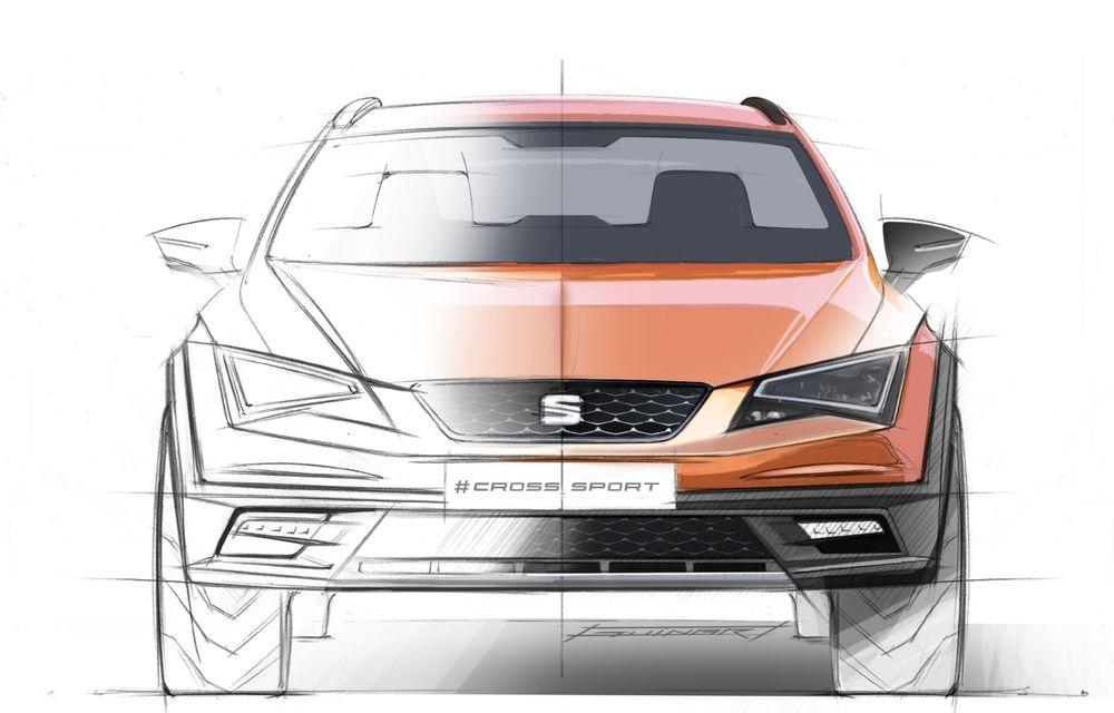 Seat Leon Cross Sport Concept prezintă ipoteza unui SUV coupe de clasă compactă - Poza 2