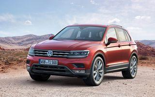 Volkswagen Tiguan: primele imagini oficiale ale noii generații