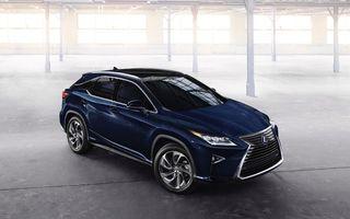 Lexus RX își face debutul european la Salonul Auto de la Frankfurt