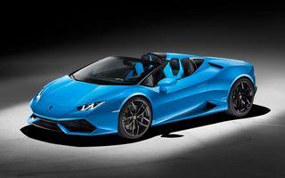 Lamborghini Huracan Spyder: 610 CP și 0-100 km/h în 3.4 secunde pentru roadsterul italian