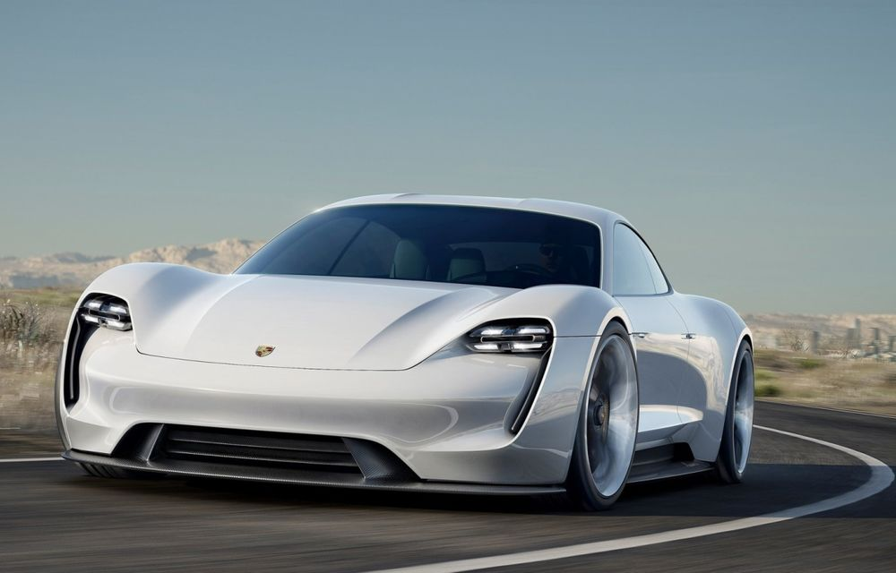 Porsche Mission E Concept: 100% electric, 600 de cai și o autonomie de 500 de kilometri - Poza 1