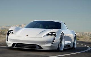 Porsche Mission E Concept: 100% electric, 600 de cai și o autonomie de 500 de kilometri