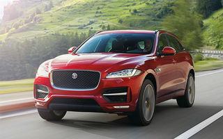 Jaguar F-Pace, primul SUV Jaguar, se prezintă în prima galerie foto oficială