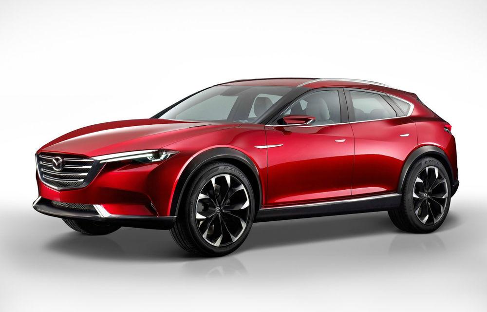 Mazda Koeru Concept arată direcția de design a viitoarelor crossovere ale mărcii - Poza 1