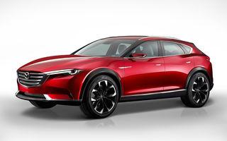 Mazda Koeru Concept arată direcția de design a viitoarelor crossovere ale mărcii