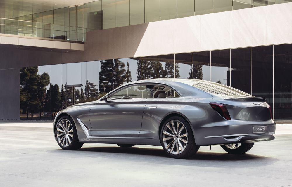 Hyundai Vision G Coupe Concept: marca sud-coreeană virează spre zona premium - Poza 3