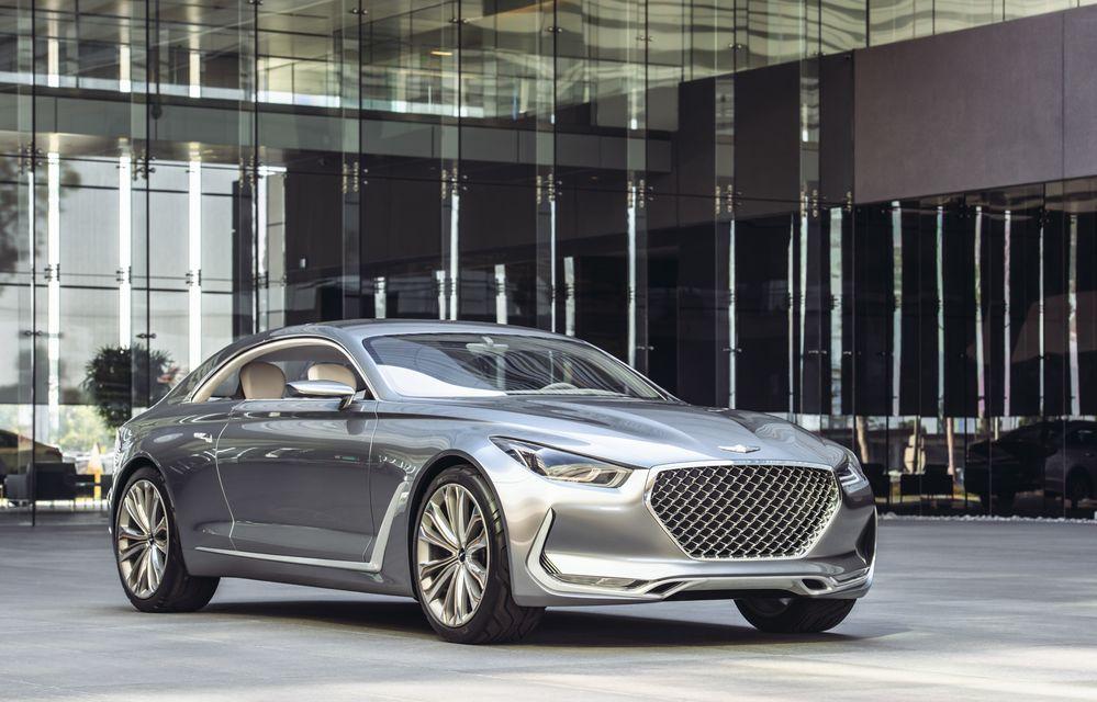 Hyundai Vision G Coupe Concept: marca sud-coreeană virează spre zona premium - Poza 2
